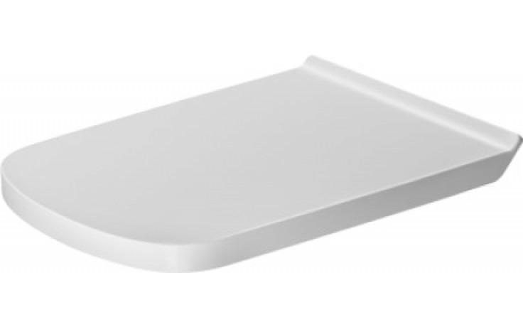 DURAVIT DURASTYLE WC sedátko Vital bez sklápěcí automatiky, bílá 0062310000
