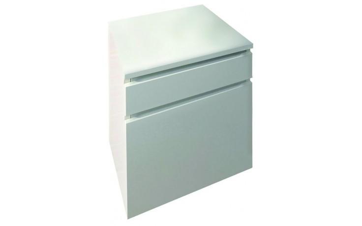 CONCEPT 150 skříňka spodní 40,1x36x67,6cm závěsná pravá, bílá