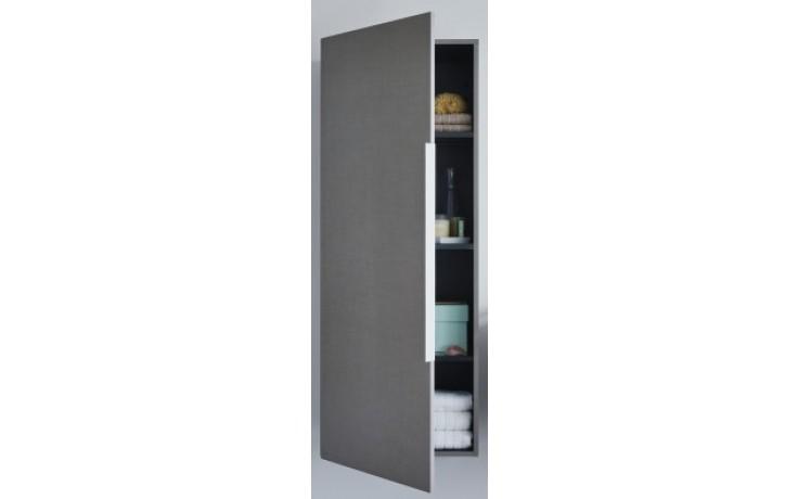 Nábytek skříňka Duravit Happy D 2 polovysoká 3 skleněné police 500x240 mm americký ořech/americký ořech