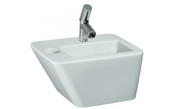 LAUFEN IL BAGNO ALESSI DOT umývátko 450x330mm s otvorem, s přepadem, bílá LCC 8.1590.1.400.104.1