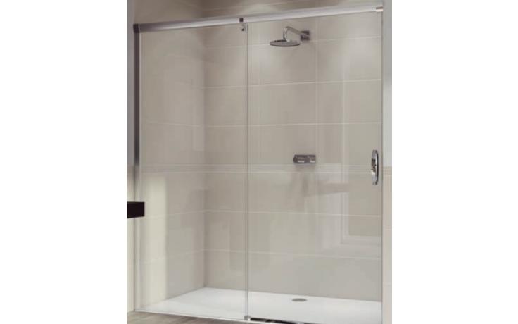 Zástěna sprchová dveře Huppe sklo Aura elegance 1400x1900 mm stříbrná lesklá/čiré AP