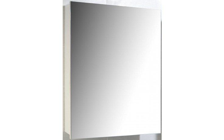 CONCEPT 100 zrcadlová skříňka 60x14x68cm závěsná, bílá