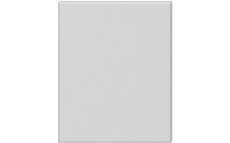 JIKA CUBE zrcadlo 1000x19x750mm, na desce, bílá 4.5555.6.039.304.1
