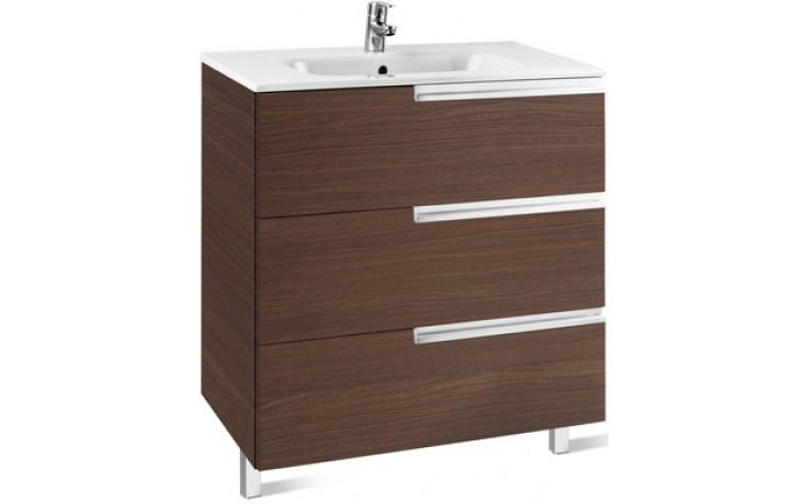 ROCA UNIK VICTORIA-N  FAMILY nábytková sestava 605x460x740mm skříňka s umyvadlem antracit 7855839153