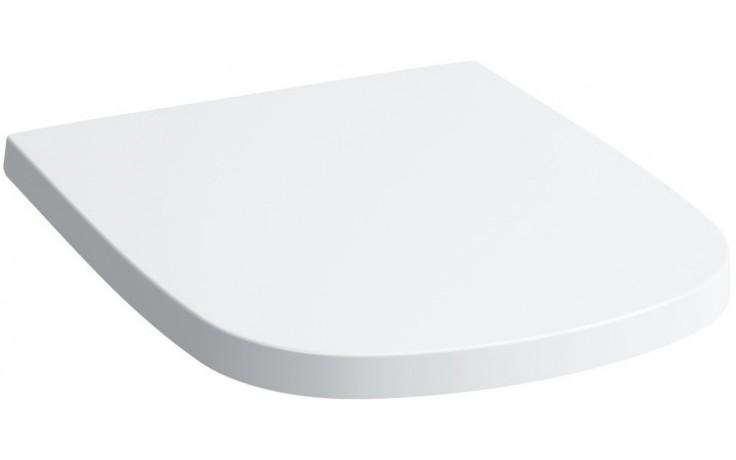 LAUFEN PALOMBA COLLECTION sedátko s poklopem 443x361mm odnímatelné, se zpomalovacím mechanismem, bílá