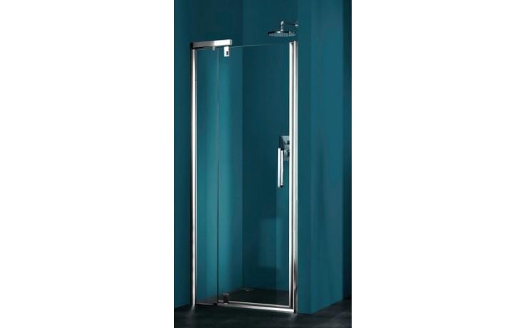 Zástěna sprchová dveře Huppe sklo Refresh pure Akce 1200x1943 mm titanová stříbrná/čiré AP