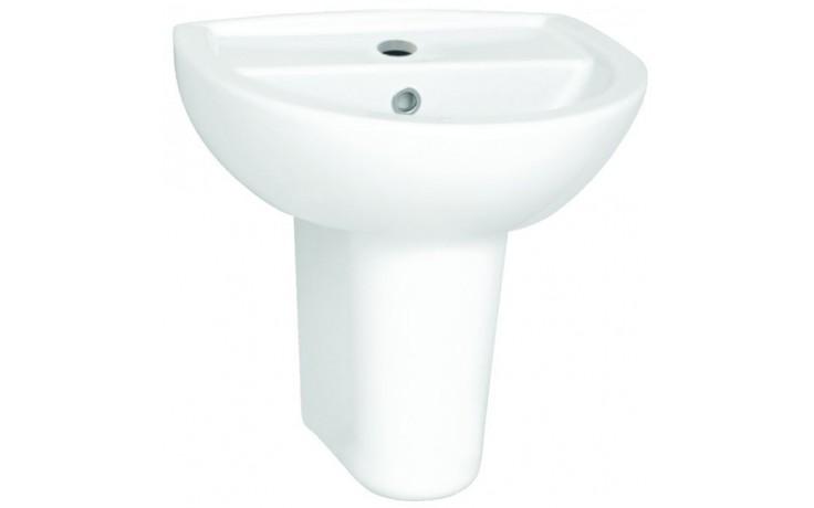CONCEPT 100 umývátko 450x360mm s otvorem, bílá alpin 5270L003-1121