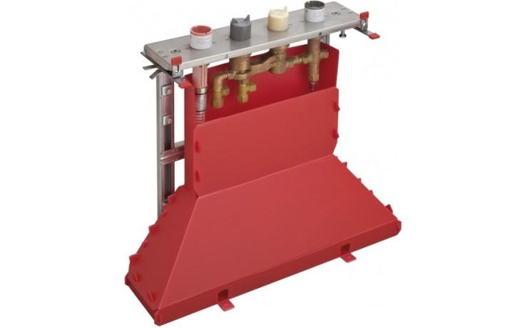 HANSGROHE základní těleso ke čtyřotvorové termostatické armatuře na vanový sokl chrom 15465180