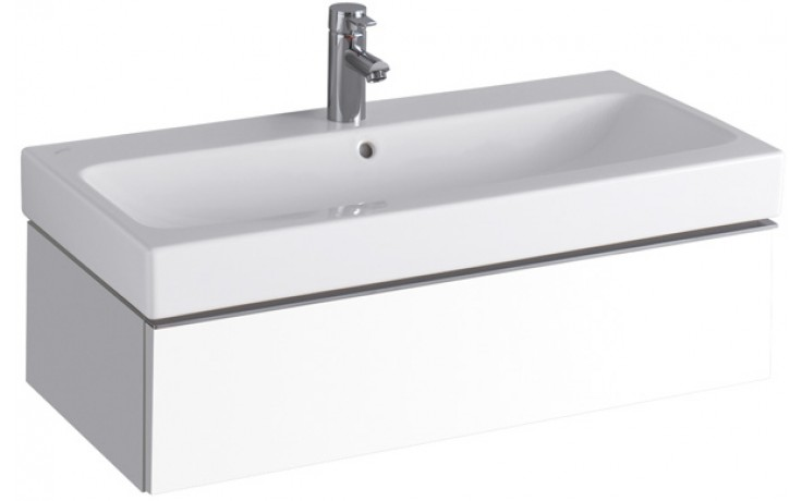 Nábytek skříňka pod umyvadlo Keramag iCon 89x24x47,7 cm bílá lesklá (Alpin)