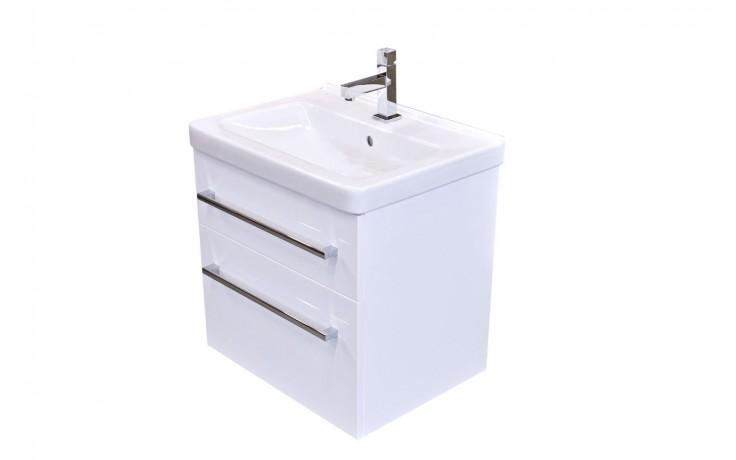 Nábytek skříňka s umyvadlem Eden Smaragd 56,6x54x42,5 cm bílá