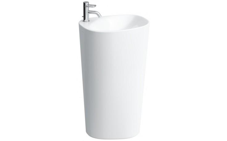 Umyvadlo speciální Laufen - Palomba stojící bez otvoru 520x435x900 mm bílá