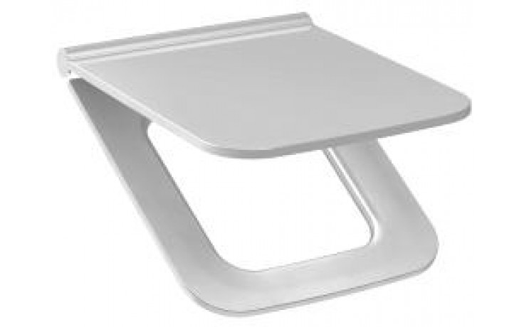JIKA PURE duroplastové sedátko 355x450mm s poklopem, Slowclose, bílá