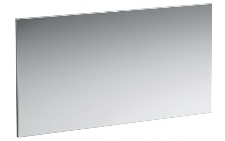 Nábytek zrcadlo Laufen Frame 25 130x70 cm hliníkový rám