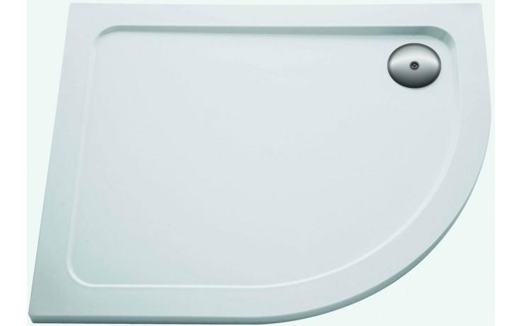 Vanička plastová Kohler čtvrtkruh Flight pravá 100x80x4 cm white