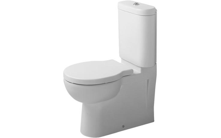 WC kombinované Duravit odpad vodorovný Foster s hlubokým splach. bez nádrže odpad vario 66x36 cm bílá