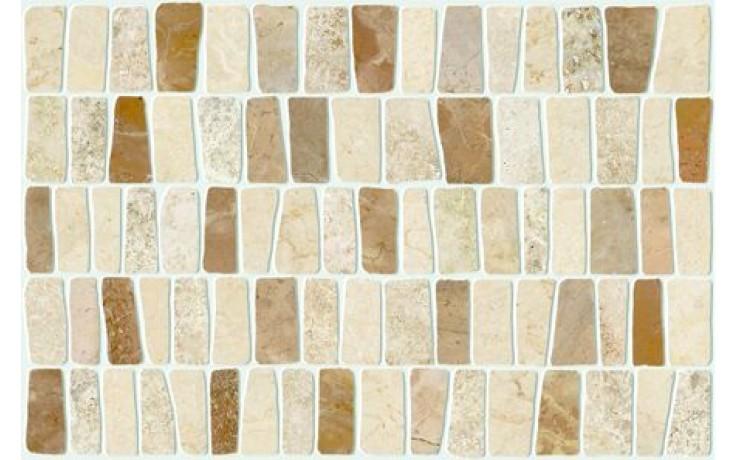 MARAZZI LITHOS PEBBLE mozaika 25x38cm prořezávaná, beige