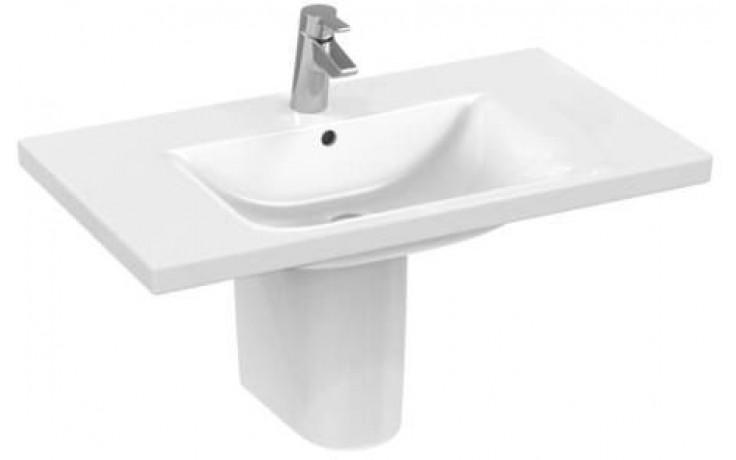 CONCEPT CUBE nábytkové umyvadlo 1000x490mm s otvorem, bílá alpin E815401