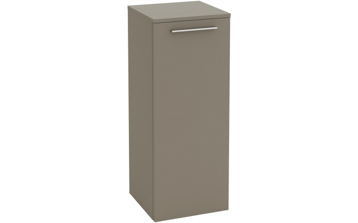 Nábytek skříňka Villeroy & Boch Verity Design B02500FE boční 350x872x340 mm jilm tmavý