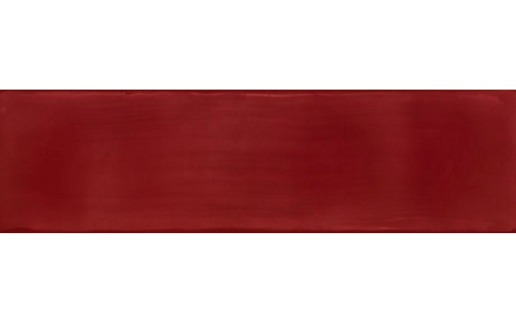 NAXOS CRYSTAL obklad 12,5x45cm, tavella rosso 68229