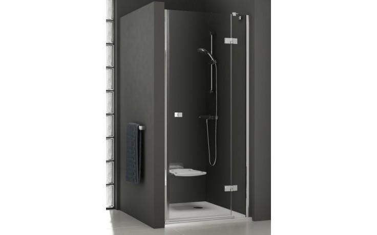Zástěna sprchová dveře Ravak sklo SmartLine SMSD2-110 A-L 1100x1900mm chrom/transparent