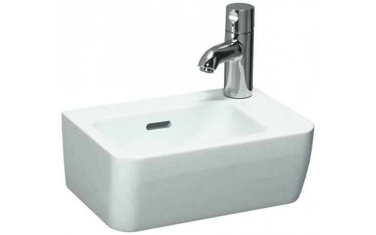 LAUFEN PRO A umývátko 360x250mm s otvorem, bílá LCC 8.1695.5.400.106.1