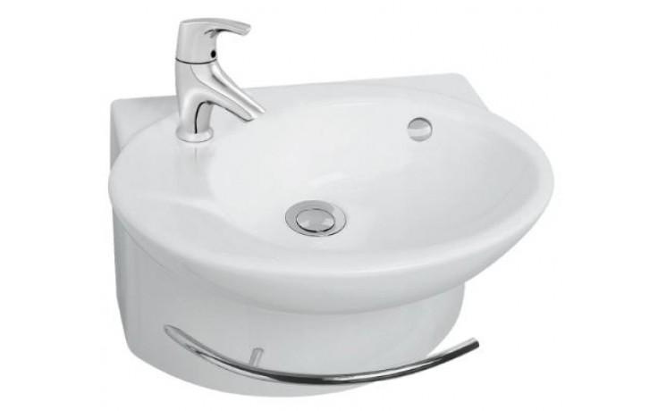 KOHLER PRESQUILE klasické umývátko 450x335mm s otvorem, white 19079-00