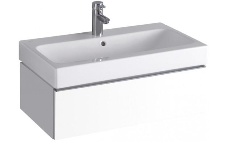 KERAMAG ICON skříňka pod umyvadlo 74x24x47,7cm závěsná lesklá bílá (Alpin) 840275000