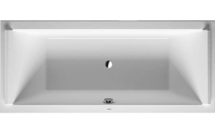 Vana plastová Duravit - Starck 180x90x46 cm bílá