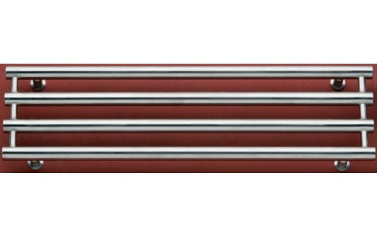 P.M.H. ROSENDAL RLSS koupelnový radiátor 950266mm, 248W, nerez