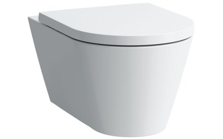 WC závěsné Laufen odpad vodorovný Kartell 37x54,5x43cm bílá+LCC
