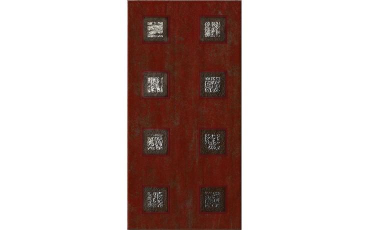 IMOLA ANDRA dekor 20x40cm red, TANT R1