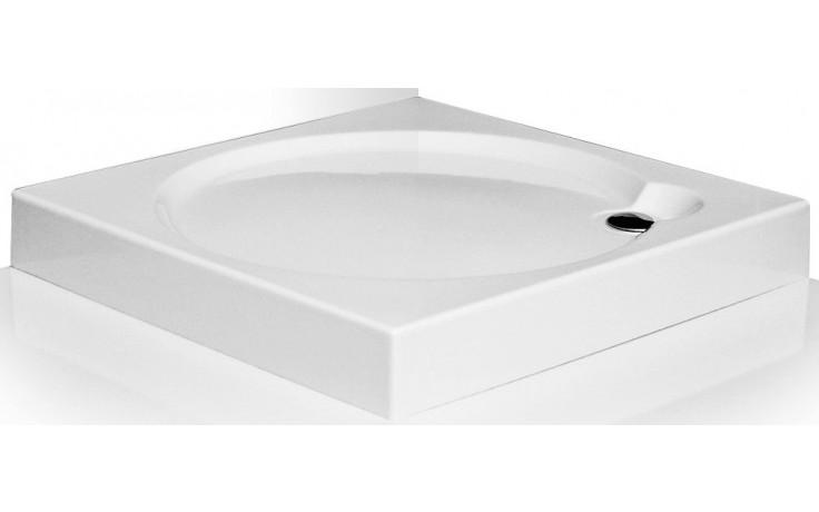 ROLTECHNIK SANIPRO ALOHA-P 800 sprchová vanička 800x800x125mm akrylátová, samonosná, čtverec, bílá