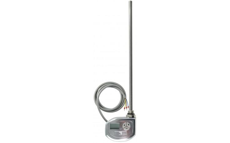 CONCEPT TST-1200 topná tyč 300W elektrická s termostatem, stříbrná