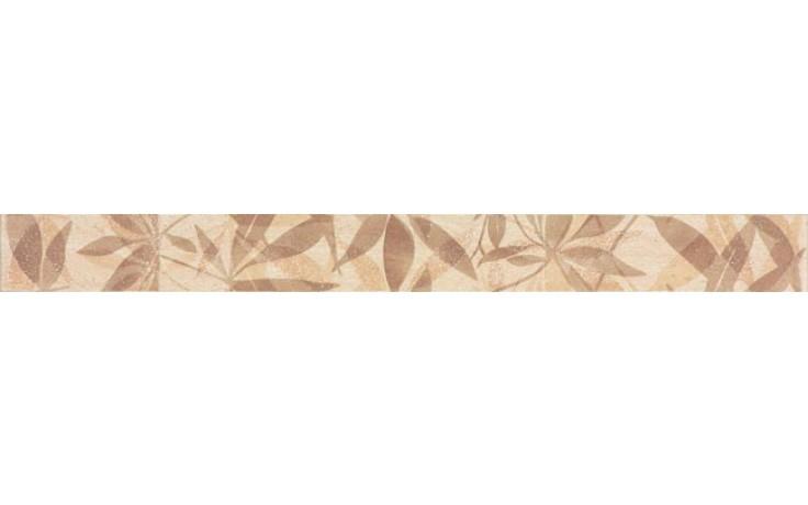 Listela Rako Lazio 3,2x33 cm hnědá