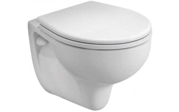 WC závěsné Kolo odpad vodorovný Rekord  52 cm bílá