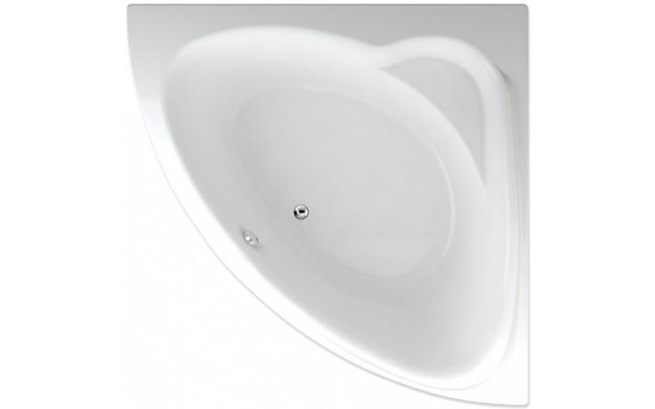 TEIKO SUMATRA vana 150x150x45cm, rohová, akrylát, bílá
