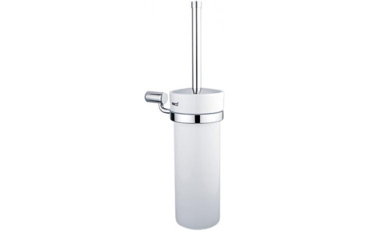 NIMCO BORMO toaletní WC kartáč 100x160x390mm chrom/bílá BR 11094K-26