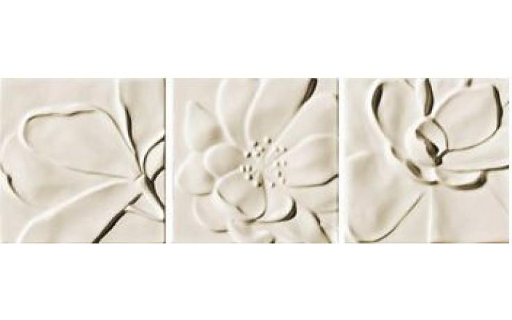 IMOLA ANTIGUA dekor 20x60cm almond, NINPHEA 20A MIX