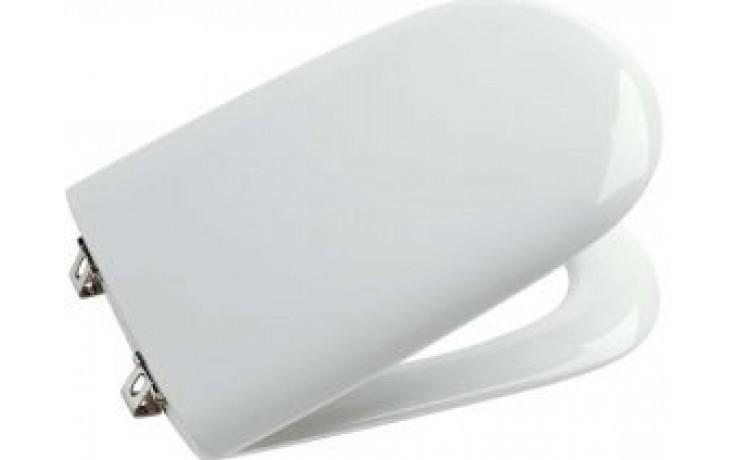 Sedátko WC Ideal Standard duraplastové Playa s automat. sklápěním a poklopem  bílá