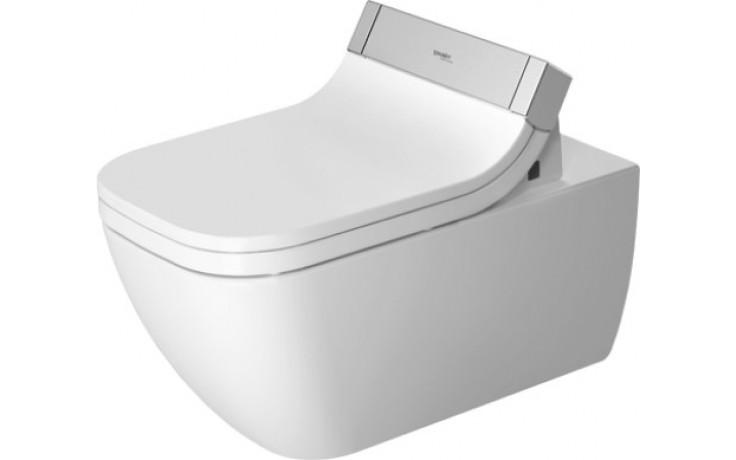 DURAVIT HAPPY D.2 závěsné WC 365x620mm s hlubokým splachováním, bílá/wonder gliss 25505900001