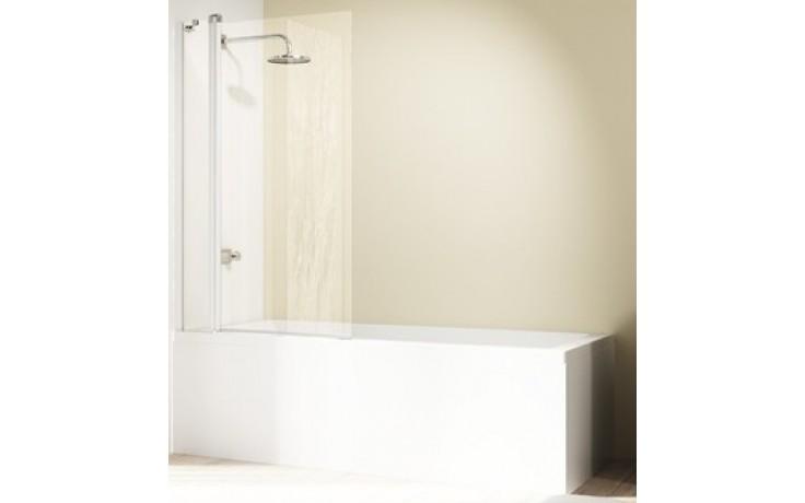 Zástěna vanová Huppe - Design elegance 950-965x1500mm stříbrná lesklá/čiré AP