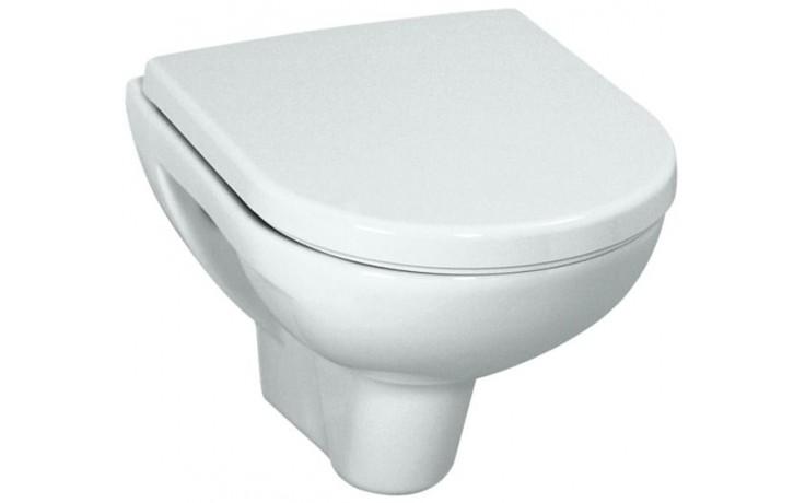 WC závěsné Laufen odpad vodorovný Pro ploché 49 cm bílá-LCC