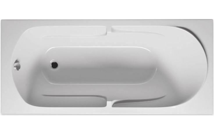 RIHO FUTURE BC28 vana 170x75x44,5cm, obdélníková, akrylátová, bílá