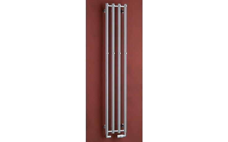 Radiátor koupelnový PMH Rosendal R1/6 - 420/950  lesklý chrom