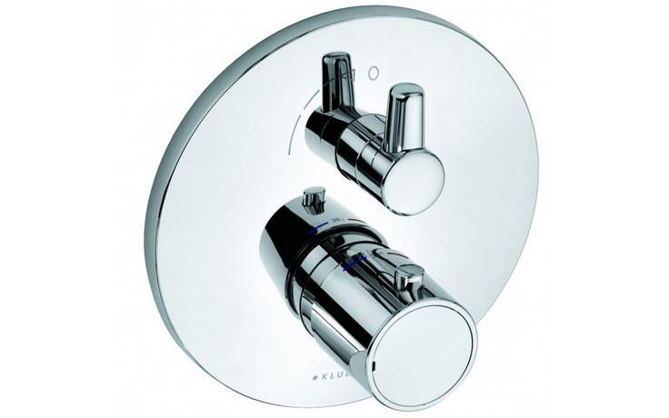 KLUDI O-CEAN baterie sprchová Ø170mm, podomítková, termostatická, chrom