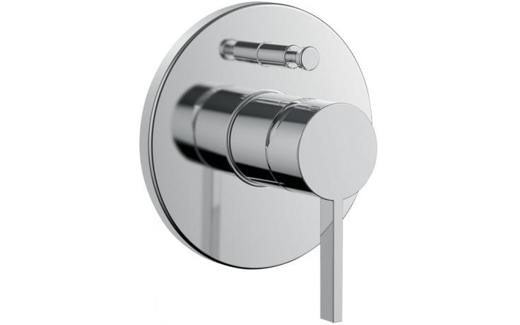 LAUFEN KARTELL BY LAUFEN vrchní sada podomítkové vanové/sprchové baterie pro Simibox, s přepínačem, chrom 3.2133.6.004.000.1
