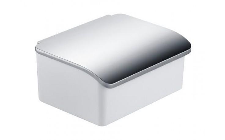 Doplněk ostatní Keuco Elegance 11667013000 zásobník na vlhčené ubrousky 160x71x130 mm chrom/box bílý porcelán