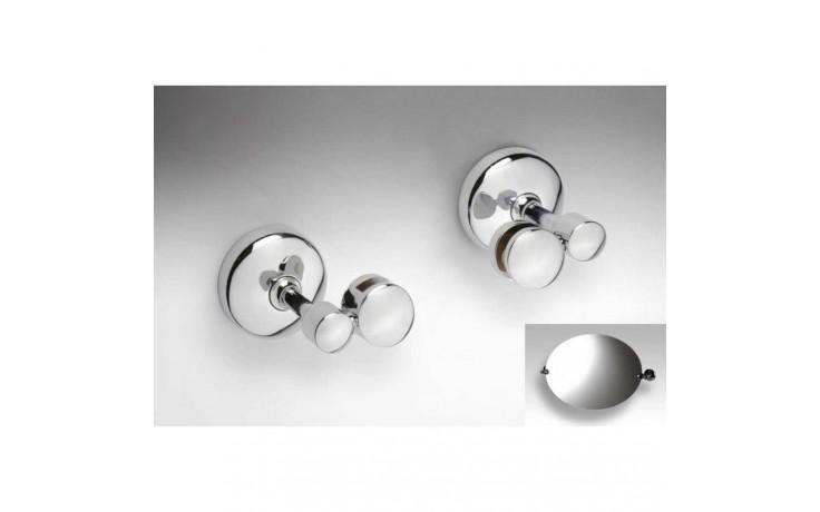 Příslušenství zrcadlo GOZ METAL - Držák zrcadla (pár) bez skla 57x75x60 mm chrom