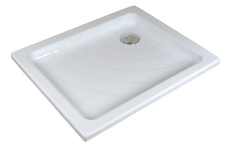 RAVAK ANETA 75 LA sprchová vanička 775x905mm akrylátová, obdélníková, bílá A003701220
