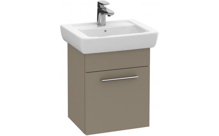 VILLEROY & BOCH VERITY DESIGN skříňka pod umyvadlo 365x300x445mm panty vlevo, terakota mat B01700N9